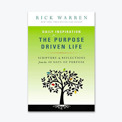best-christian-books-Daily-Inspiration-for-the-Purpose-Driven-Life-Scriptures-and-Reflections-from-the-40-Days-of-Purpose-rick-warren