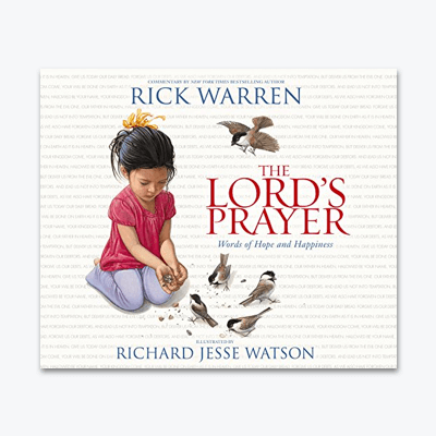 best-christian-books-The-Lords-Prayer-Words-of-Hope-and-Happiness-rick-warren