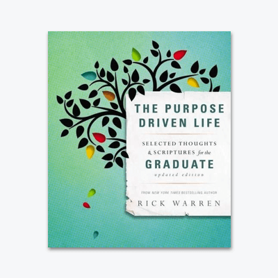 best-christian-books-The-Purpose-Driven-Life-Selected-Thoughts-and-Scriptures-for-the-Graduate-rick-warren